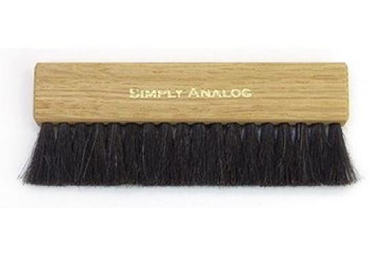 Anti - Static Brown Oak Wooden Brush